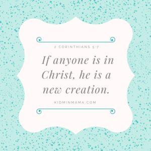Monday Mama Devotional: New Creation