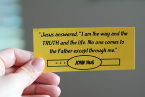 truth verse card