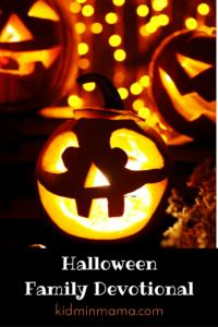 Family Friday: Halloween Devotional