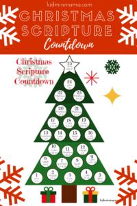 Christmas Scripture Countdown