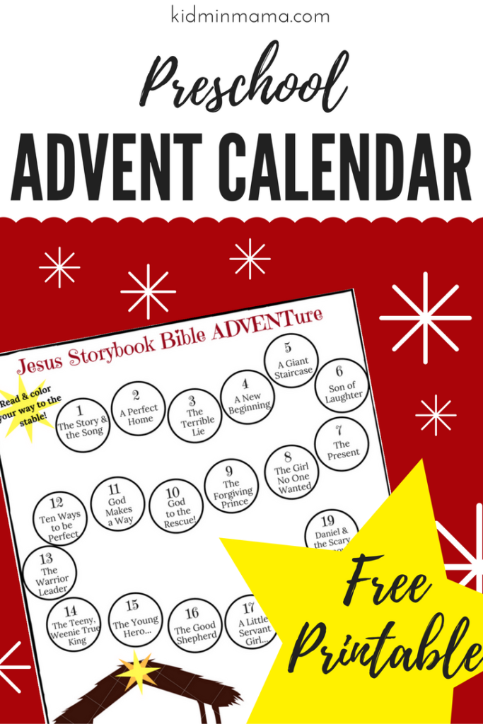 Preschool Advent Calendar