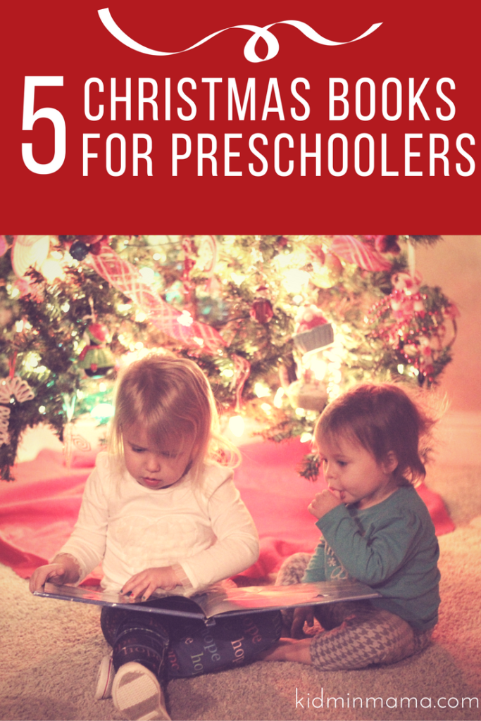 5 Christmas Books for Preschoolers