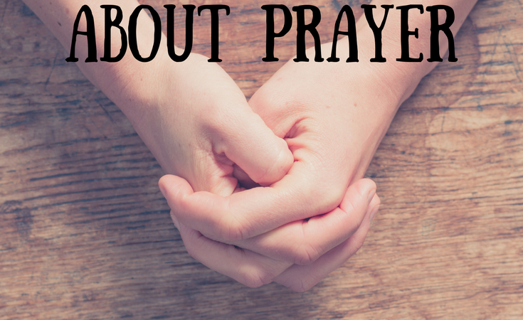Teaching Kids About Prayer