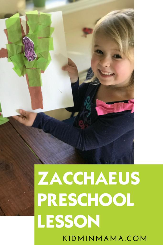 Preschool Lesson Zacchaeus