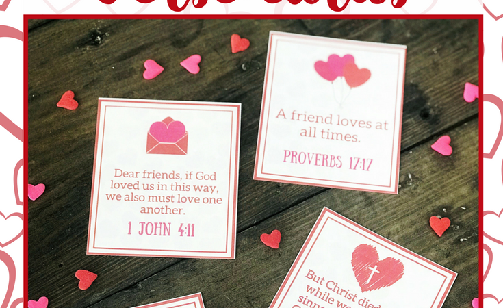 February Verse Cards